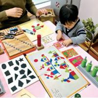 幼児学習風景 チャイルド脳伸夙川校