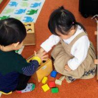 幼児教室学習風景